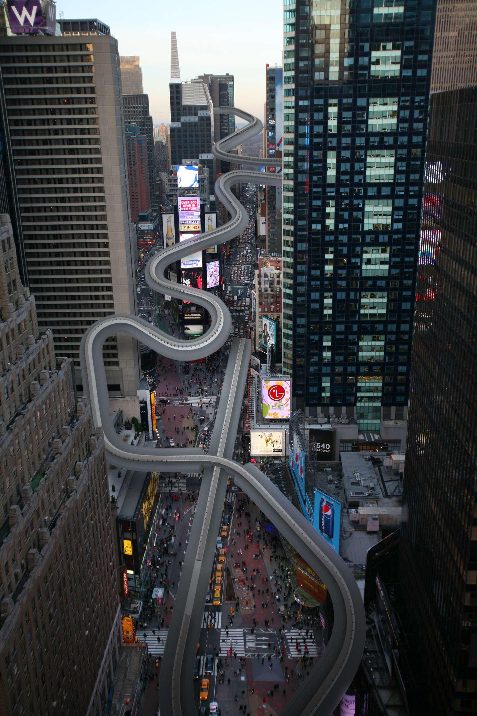 Олимпийские объекты Сочи в Нью-Йорке