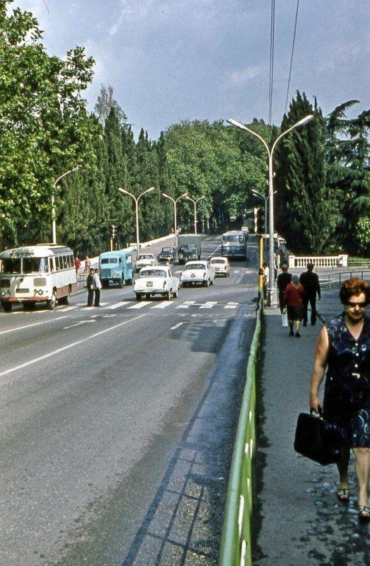 Сочи в 70-80-ых годах