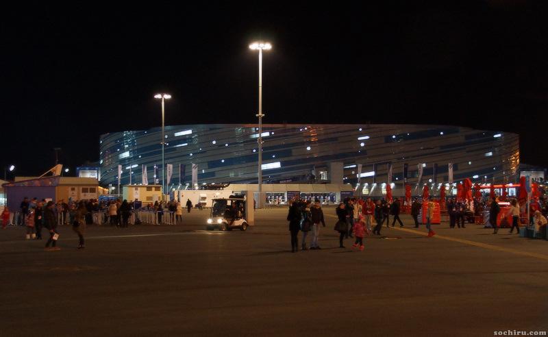 Олимпийский парк: Шайба
