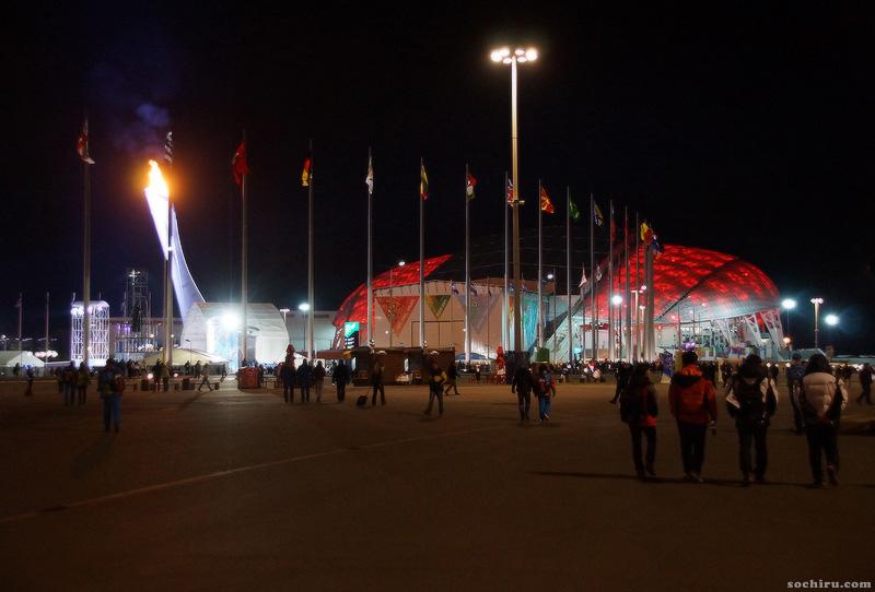 Олимпийский парк: Фишт