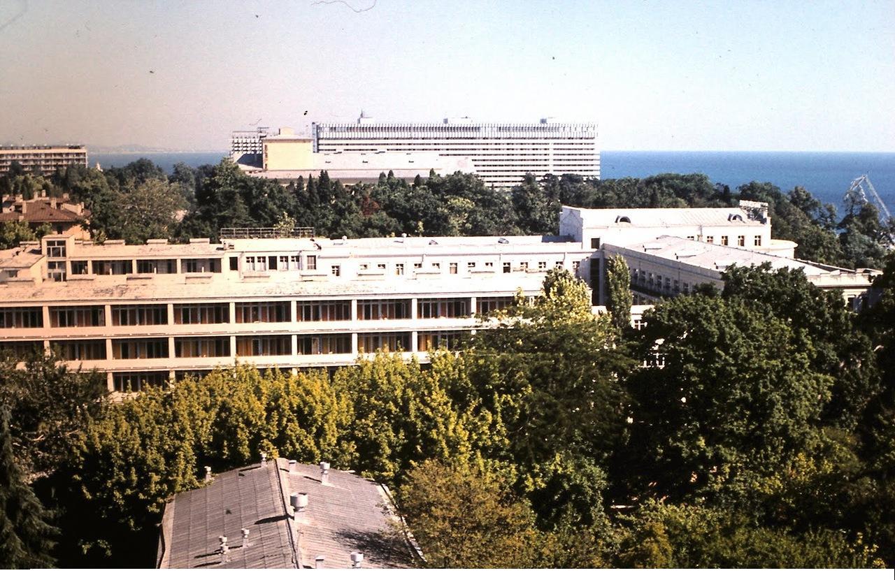 Сочи в 1974 году