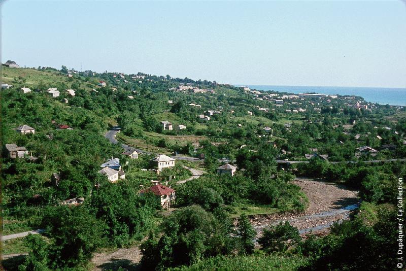Пригород Сочи в 1964 году