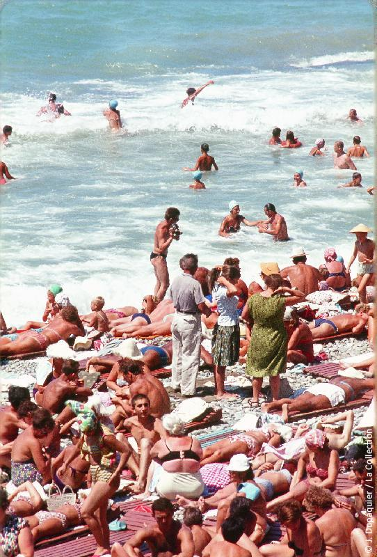 Сочинские пляжи в 1964 году