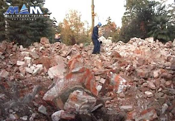 Фото уничтоженной дачи Хлудова