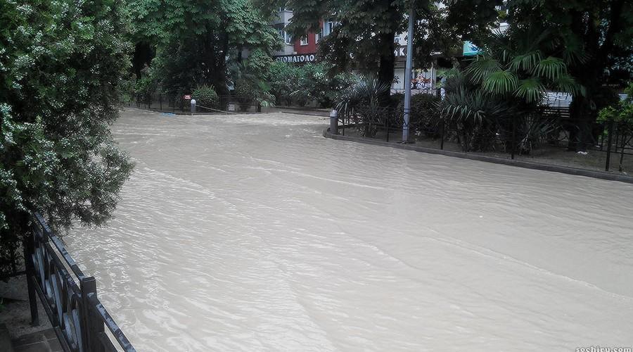 Затопленная улица Чайковского