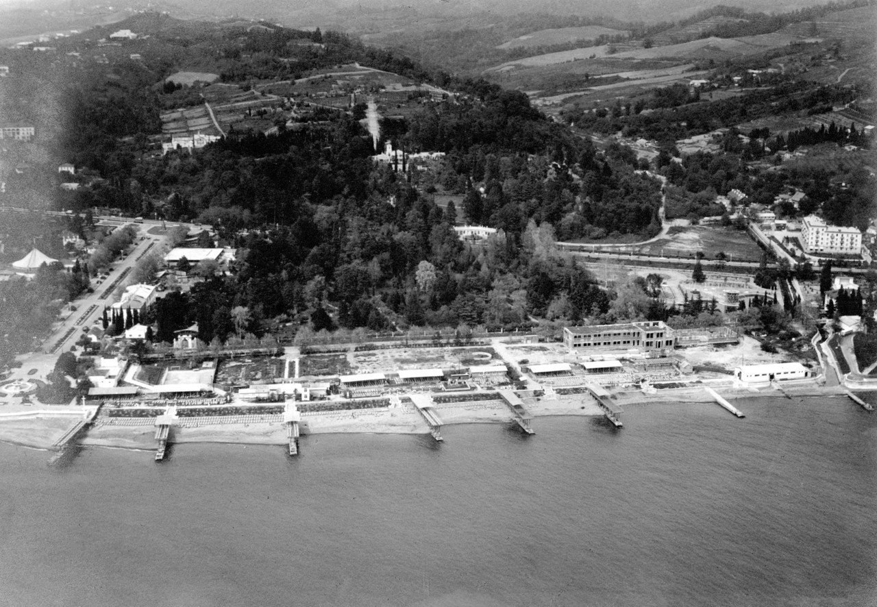 Парк Дендрарий в 1959 году